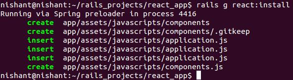 ReactJS with Rails