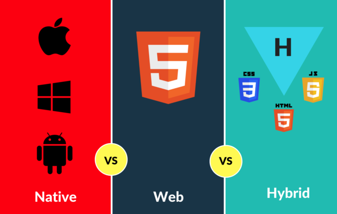 Difference between Native Apps Web Apps Hybrid Apps