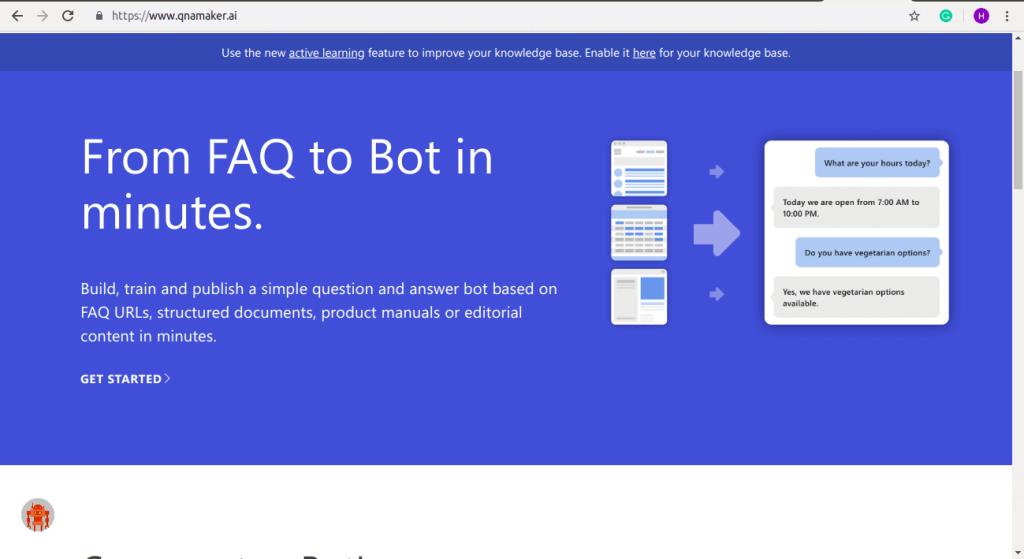 QnA Chatbot Development Platform