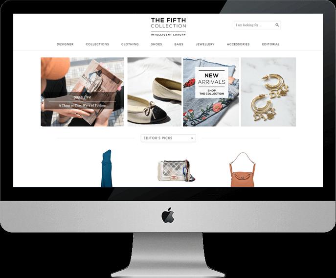 vintage fashion eCommerce platform