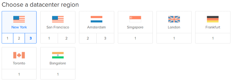 choose datacenter