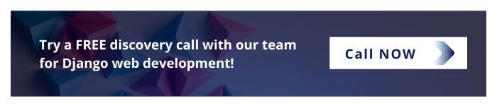 Call now for Django web Development