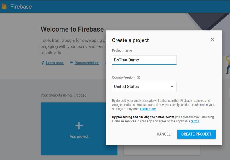firebase demo app