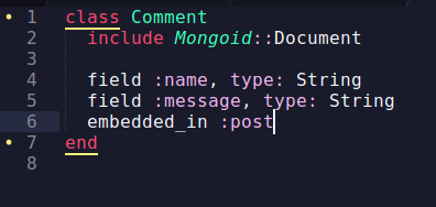 ruby on rails with mongodb