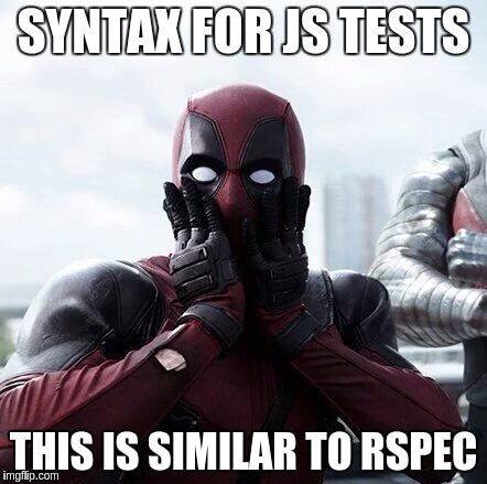 syntax for js