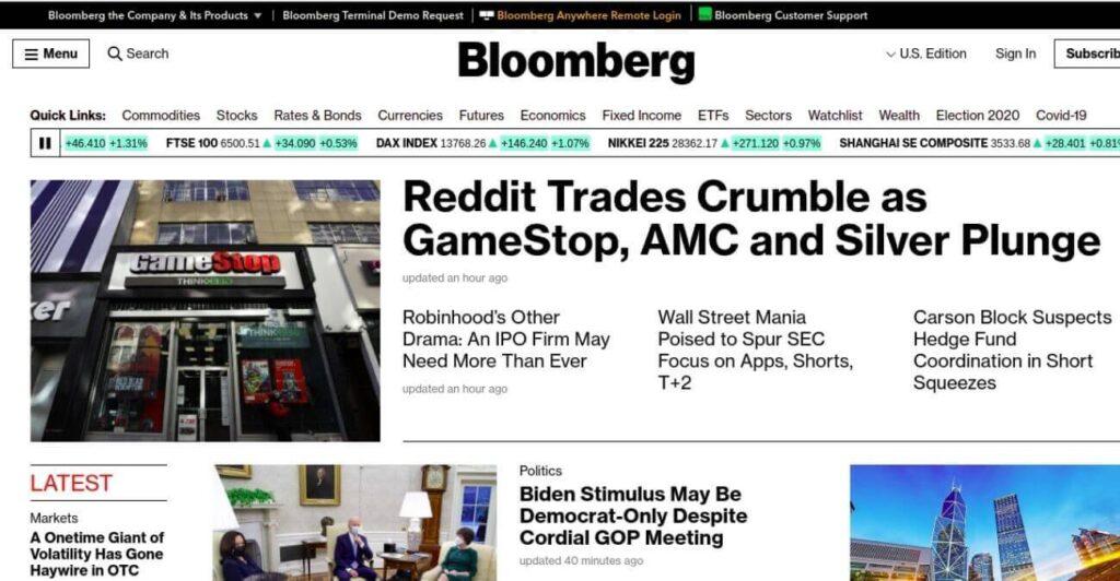 Bloomberg - giant media network