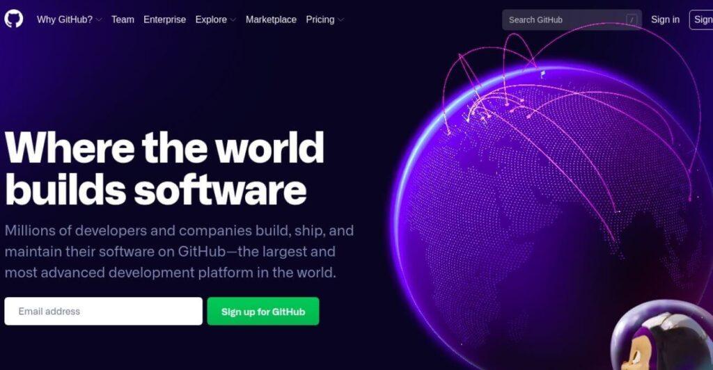 Github - open source IT platform