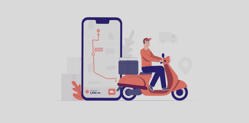 contactless delivery app development services