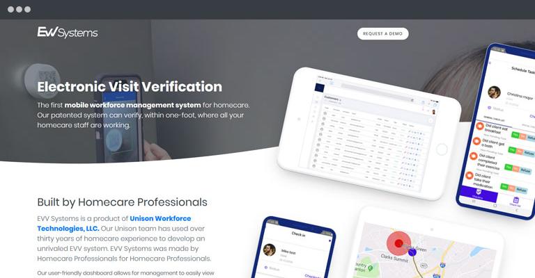 EVV Systems Web Application
