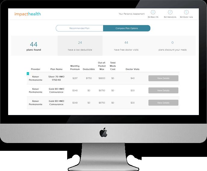 ImpactHealth - Compare Insurance Plans