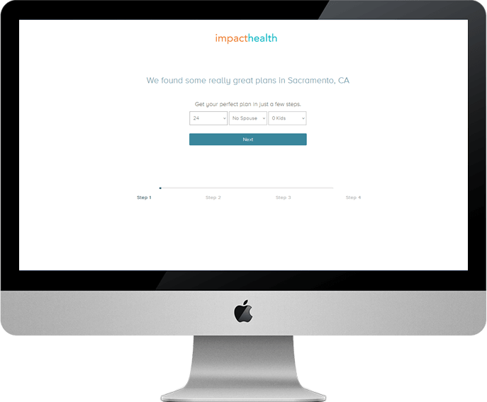 ImpactHealth - Get Your Insurance Plan