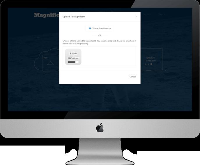 Magnificent - High Volume PDFs Upload