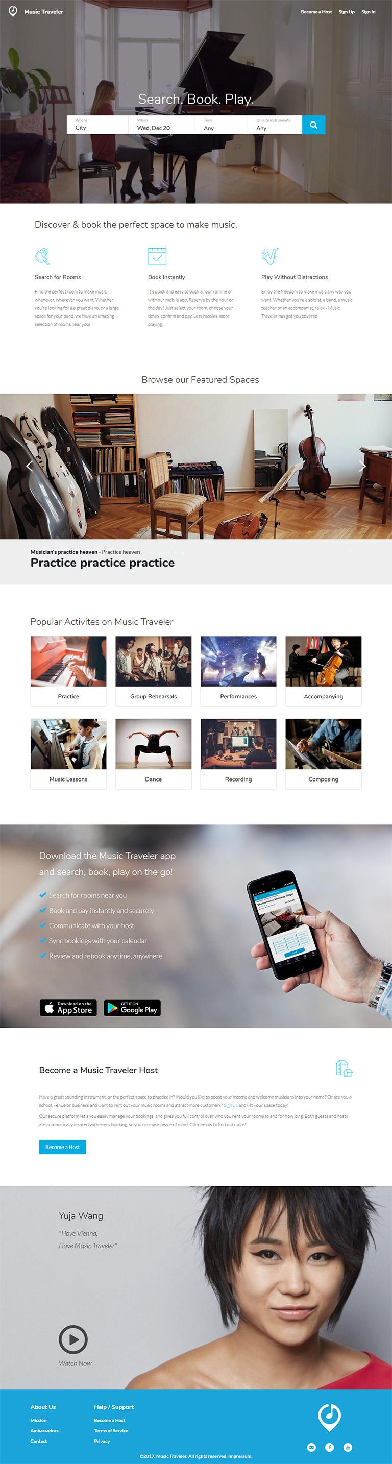 music studio app case study