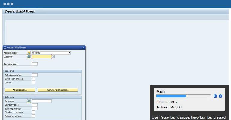 SAP Automation RPA