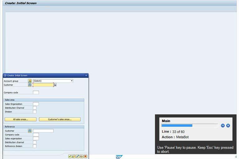 Case Studies : RPA SAP Automation - BoTree Technologies